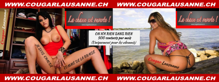 Rencontrez une cougar de Lausanne